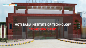 Moti Babu Institute of Technology, Bihar - Admission, Ranking, Courses, Facilities, Fee Structure, Website, 2021-22